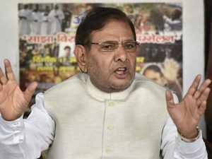 Sharad Yadav has no other option except to join RJD to survive in politics, said JD-U.