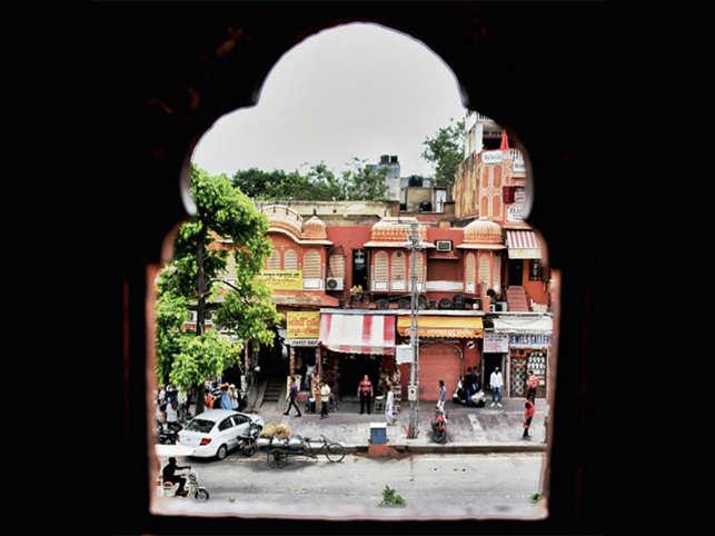 Reader Udit Maheshwari captured this image in Jaipur.