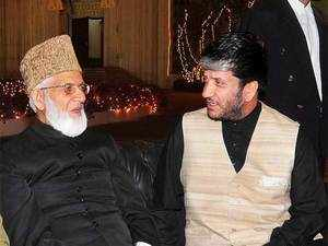 The agency had earlier issued summonses to Shah in the case, the prosecution had said, adding that Wani had claimed that he had given Rs 2.25 crore to the separatist leader. (In pic from Right: Shabir Shah and Syed Ali Shah Geelani)