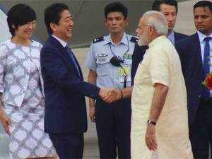 There are indications that the joint statement by the two countries after Modi-Abe talks will have certain components relating to defence cooperation.