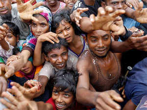 Bangladesh, which is facing a big influx of Rohingyas from Myanmar, has called on the international community to intervene and put pressure on Myanmar to address the exodus.