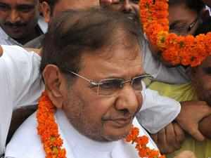 Sharad Yadav will preside over another combined Opposition programme in Jaipur.