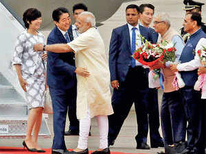 To ward off Chinese threat, India & Japan scale new summits together
