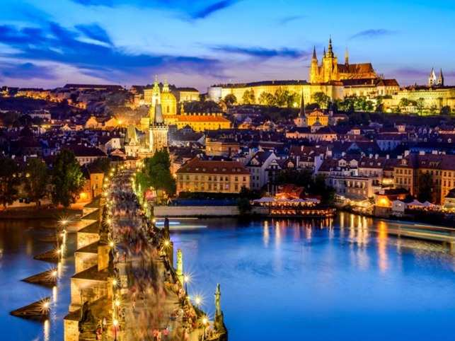 Prague is one of the top ten emerging destinations to visit for Indians.
