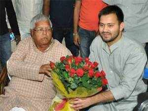 Lalu Prasad and Tejashwi, the leader of opposition in state assembly, said they have not received the legal notice so far.