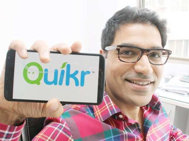 Founder of Quickr- Pranay Chulet