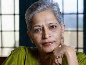 Lankesh (55) was shot dead at her residence in Bengaluru by an unidentified assailant on September 5. The incident had triggered a massive outrage across the country.