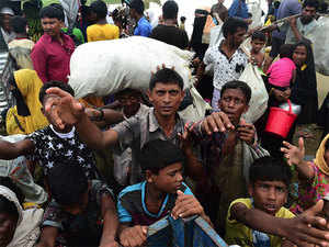 """""""The entire world today is worried with the Rohingya issue (and) their (India's) concern and stand beside us is very crucial at this moment."""""""