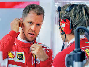 Vettel dropped to three points behind Hamilton with seven of the 20 races still to run but can regain the lead on Sunday.