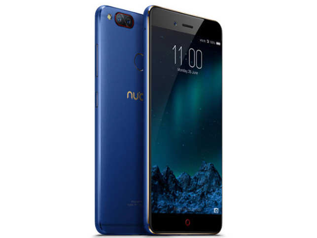 The device offers 128 GB internal storage and comes in Aurora Blue colour.