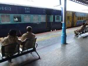 Around 100 tablets have so far been given by the Railways to on-board supervisors of the IRCTC in different railway zones
