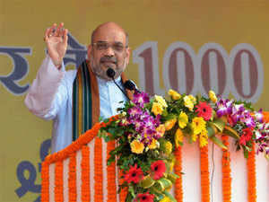 """Now in place of that (policy paralysis), Narendra Modi has provided a decisive government,"" Shah said."