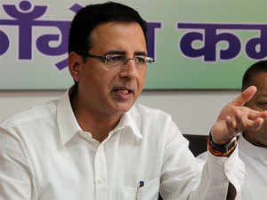"""Surjewala further said: """"Looting people by the BJP by collecting excise duties of Rs 2 lakh 50 thousand crore has become the new normal."""