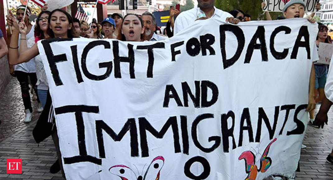 Daca Why Over  Indians In The Us May Face Deportation The Economic Times