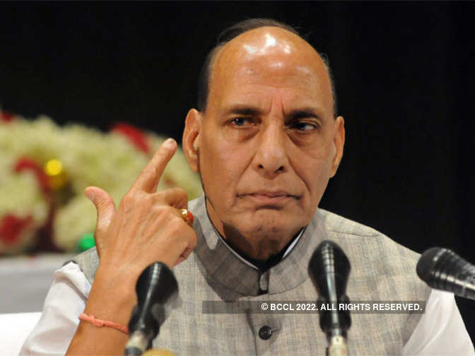 Talks with Pakistan meaningless till it stops exporting terror: Rajnath Singh