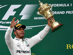 Having started from fifth, on one of the toughest tracks in Formula One for overtaking, Hamilton could not believe his luck.