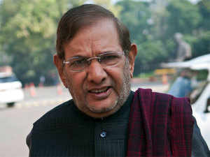 Sharad Yadav was touring various parts of the country under his 'Composite Culture' campaign which was being attended by leaders of other opposition parties.