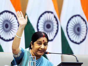 During her week-long stay, Swaraj, leading a high-powered Indian delegation, is expected to hold about 20 bilateral and trilateral meetings with leaders attending the session.