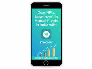 An NRI needs to have an NRE/NRO account in India to be able to invest via the ETMoney iOS app.