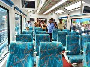 The special and aesthetically-designed Vistadome air-conditioned coach, is a first-of-its-kind in Indian Railways.