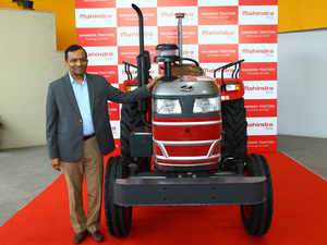 "Pawan Goenka, Managing Director, Mahindra & Mahindra (M&M) said, ""Our tractor R&D has always been at the forefront of pioneering cutting edge solutions."""