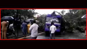 Mumbai rain: Schools shut; flights, trains hit