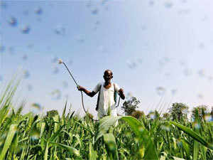 The target was fixed by the agriculture ministry which put the foodgrain production figure for 2017-18 at 274.55 million tonnes.