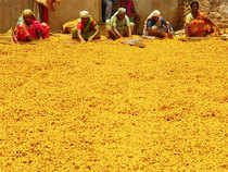 The spice for delivery in the far-month November increased by Rs 42, or 0.55 per cent, to Rs 7,580 per quintal, in an open interest of 2,025 lots.