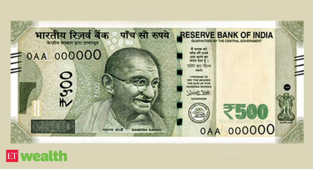 Security Features Of A Genuine Rs 500 Currency Note The Economic Times