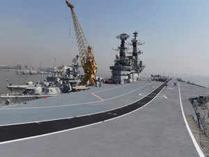 The Naval units are on a month long deployment for surveillance and cooperation with the Arabian Sea rim nations.