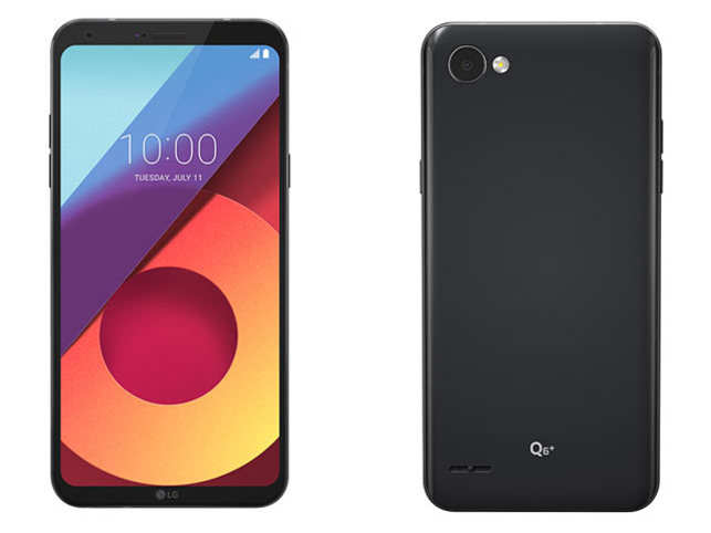Image result for LG launches Q6+ for Rs 17,990 in India