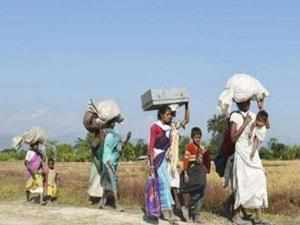 Infiltration from Bangladesh has reduced indigenous people of Assam to a landless class of people, says report.