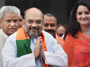 Shah held closed-door meetings with the heads of 19 'vibhag' or departments and 10 'prakalp' or projects in the BJP's state unit.