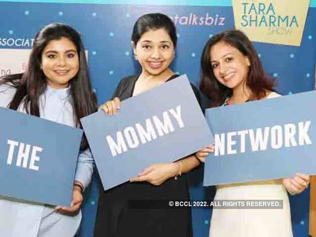(L-R)  Tejal Bajla, Kiran Amlani and Shreya Lamba, Founders of The Mommy Network.