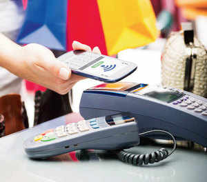 """Banks are working to install 20 lakh Aadhaar Pay-enabled PoS terminals to promote digital payments at small merchant outlets."""