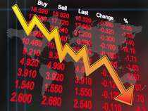Sensex cracked nearly 300 points and Nifty slid near 10.010-level.
