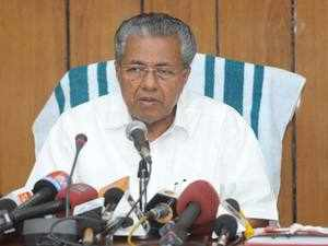"""The RSS and the BJP have taken up a """"national agenda"""" to """"shatter"""" the concept of federalism, said Vijayan."""