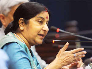 Swaraj is in New York for the 72nd annual session of the UN General Assembly. She is scheduled to address the world body on Saturday.