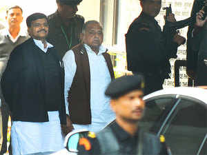 Mulayam, who was opposed to the SP-Congress alliance during the 2017 Assembly elections, was offered party symbol and president's post in Lokdal by Sunil Singh.