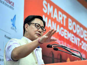 """The vertical structure is already in place. Now it is the horizontal coordination for which this particular event is taking place,"" Rijiju said,"