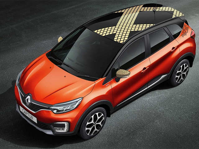 Renault Captur safety features - Renault Captur SUV launched at Rs