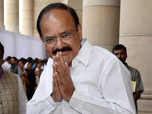 """Talking about 'secularism' and 'tolerance', Naidu said that it is embedded in Indian consciousness and """"some incidents here or there cannot brand the entire society""""."""