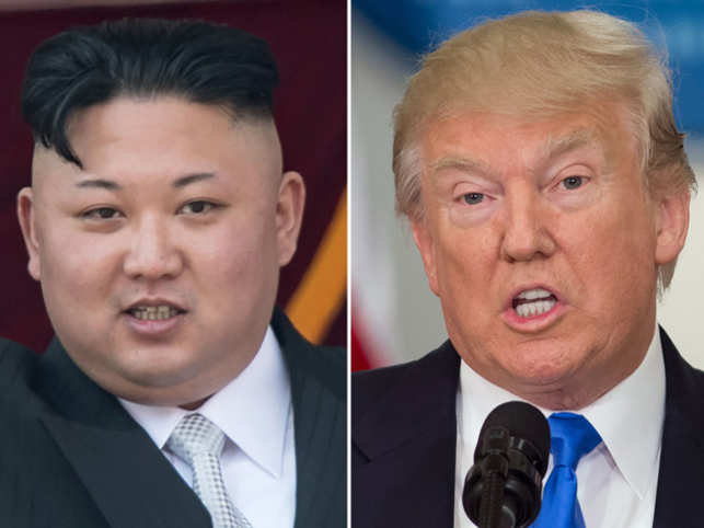 Kim directly assails Trump and North hints at weapons test