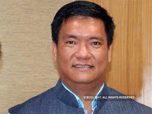 Director finance of NHIDCL Sanjay  Jaju called on Chief Minister Pema Khandu.