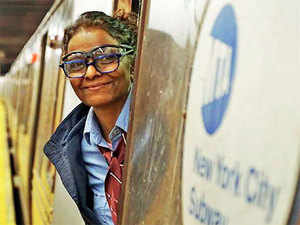 Having moved to the US in 1992, Gidla is now a subway conductor in New York City