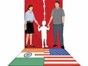 At the annual US-India consular dialogue coming up on September 27 at Washington, DC, the US government will push the Indian side to accede to the Hague Convention.