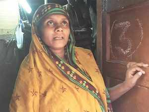 They (Myanmar militia) killed my father in front of my eyes. It took us one miserable month to reach Delhi. We are safe here; the kids are going to school — that is all we care about, said Noor Begum, a Rohingya in Kanchan Kunj refugee camp.