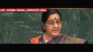 Sushma Swaraj at UNGA: India an IT superpower, Pakistan a terror factory