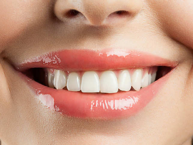 It is extremely important to maintain a balance between the white and the pink in the mouth.