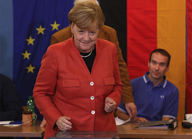 Angela Merkel wins 4th term but hard right gains foothold
